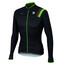 Sportful Bodyfit Pro Thermal Jersey Men black/green fluo/red